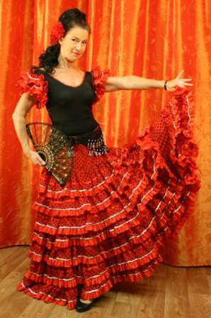 Flamencokleid